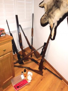 Don't be this guy_ Get a GunPro Portable Rifle Rack